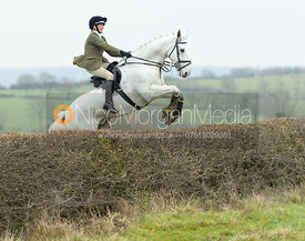 The Cottesmore Hunt at Manor Farm