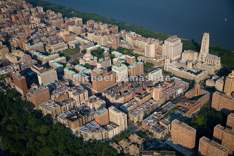 Columbia University stretches from 114th to 121st Street, between Broadway and Amsterdam, and is a neighbor to Teachers Colle...