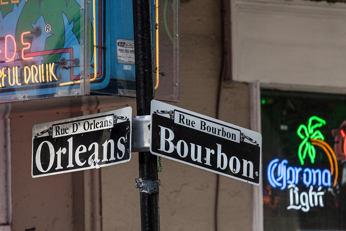 Bourbon and Orleans