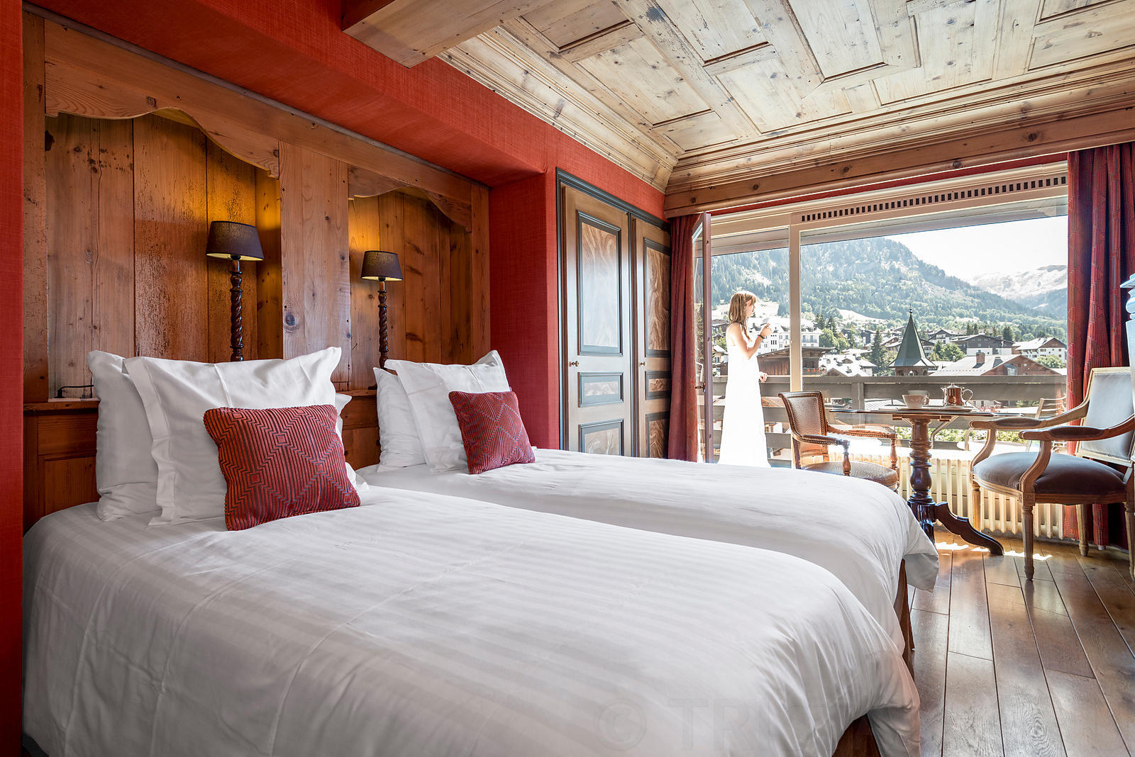 Chambre Hotel Mont Blanc ****