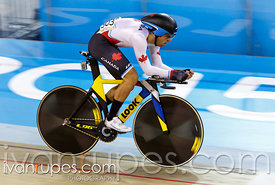 Rémi Pelletier-Roy at Men's Omnium Individual Pursuit, Track Day 1, Toronto 2015 Pan Am Games, Milton Pan Am/Parapan Am Velod...