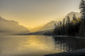 Sunrise over Lake McDonald, Glacier National Park