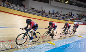 U17 Women's Team Pursuit Final. 2015 Canadian Track Championships, October 9, 2015