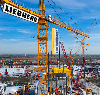 Bauma 2013 | Liebherr | Agentur: For Sale