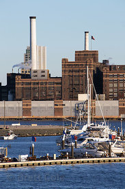 Factory near the Port of Baltimore, Maryland
