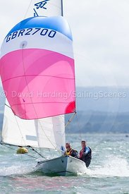 Flying Fifteen GBR 2700, adidas Poole Week 2016, 20160822424