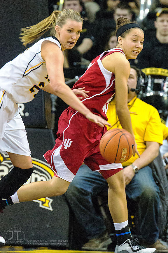 P-C - Women's Basketball, Iowa vs Indiana, February 15, 2015