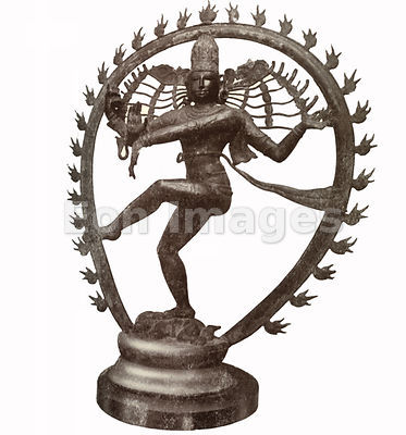 Bronze of Shiva dancing