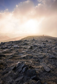 Solitude on Skiddaw - Mountain Photography