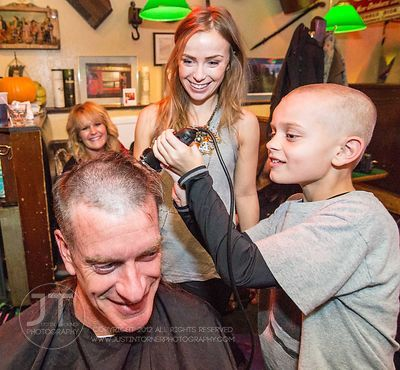 "Red Shamrock Foundation ""Bald is the New Beautiful Head Shaving Event"" November 14, 2013"