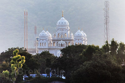Gurudwara Singh Sabha Sikh temple in Pushkar, Rajasthan, India.