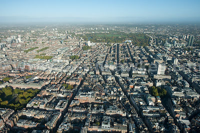 Aerial view over New Bond Street, London