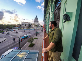 View of downtown Havana from the Hotel Saratoga