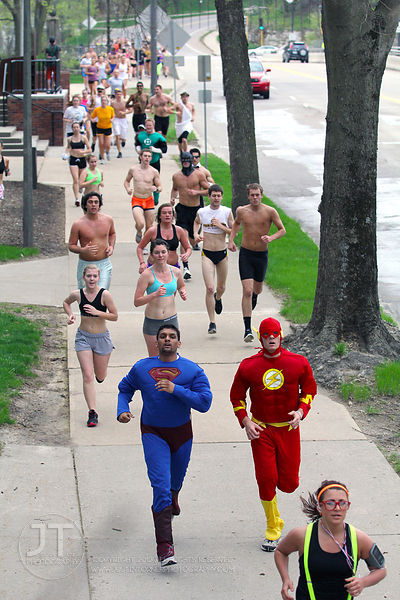 UI Alumni Association's S.T.A.T. Nearly Naked Mile 2012