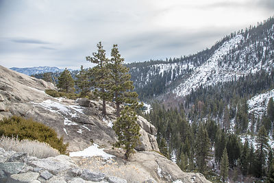 Mountains near Emerald Bay, Lake Tahoe, California