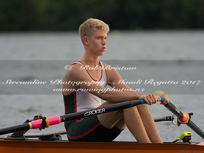 Taken during the NZSSRC - Maadi Cup 2017, Lake Karapiro, Cambridge, New Zealand; ©  Rob Bristow; Frame 495 - Taken on: Friday - 31/03/2017-  at 08:27.47