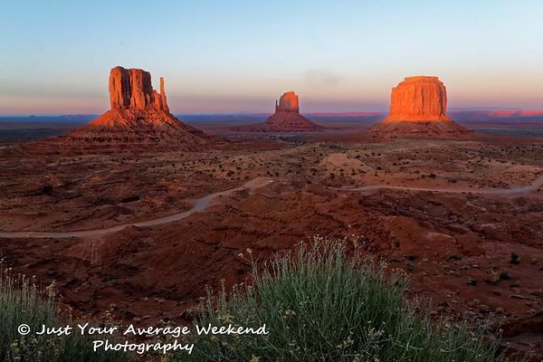 Antelope Canyon, Monument Valley, and The Wave