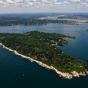 Cushing Island At Casco Bay, Portland