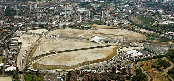 2012 London Olympic Park Construction