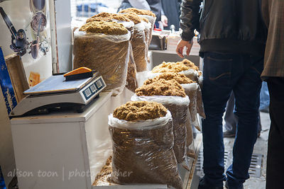 Tobacco for sale in the spice market, Istanbul