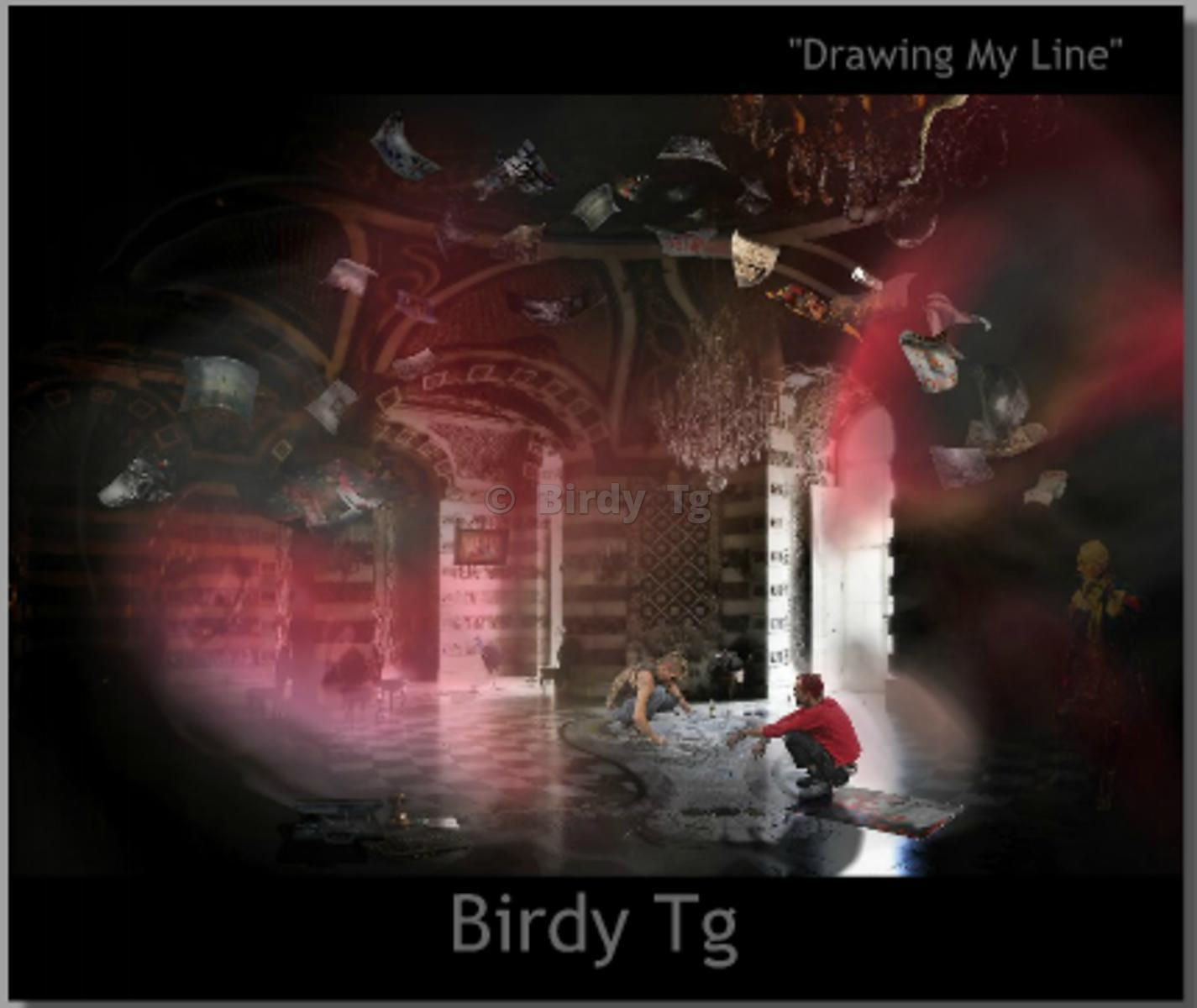 """Drawing My Line"": THE BOOK by Birdy Tg"