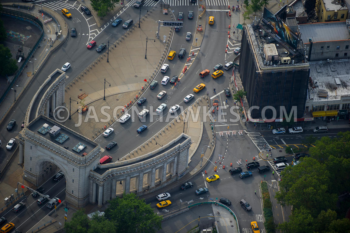 Traffic in Lower Manhattan