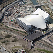 Aquatics Centre, London Olympics 2012