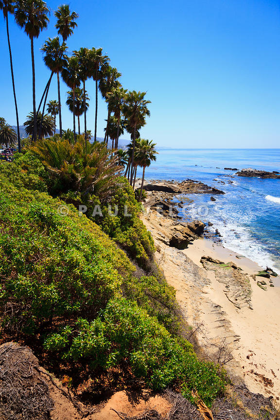 Laguna Beach California Shoreline