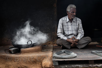 Sweets maker in Pushkar, Rajasthan, India