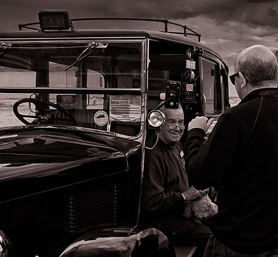 Vintage Taxi | Weymouth  | 2014