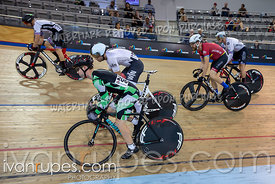 Master A Men Keirin 1-6 Final. Canadian Track Championships, Saturday Morning Session, September 29, 2018