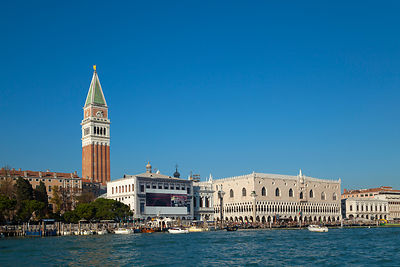 Italy, Venice, Canal Grande at St Mark's Square