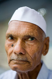Nand Kishore Varma, 75 who has cataracts