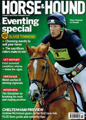Oliver Townend cover for Horse & Hound magazine