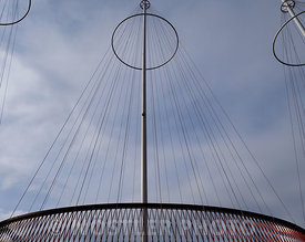 The masts of Cirkelbroen