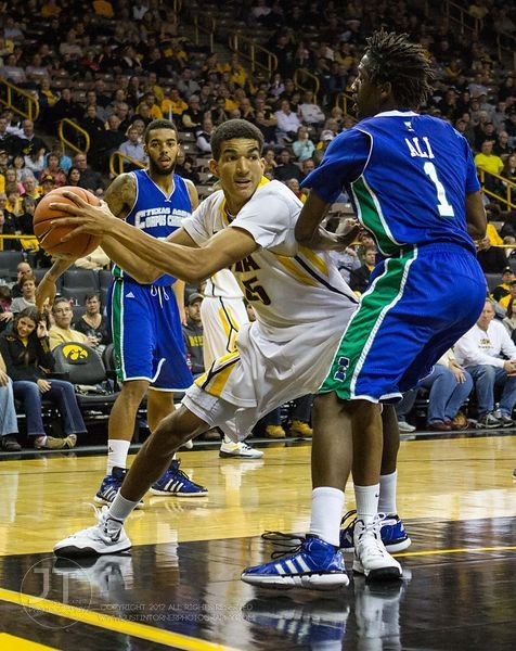 Iowa Hawkeyes vs Texas A&M Corpus Christi Islanders Mens Basketball, December 1, 2012