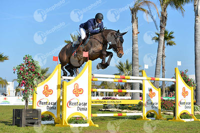 Mathy Francois Jr (BEL) and UNO DE LA ROQUE