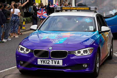 Paralympic Torch Relay Car