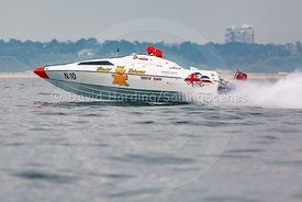 The Beaver Returns, N-10, Fortitudo Poole Bay 100 Offshore Powerboat Race, June 2018, 20180610248