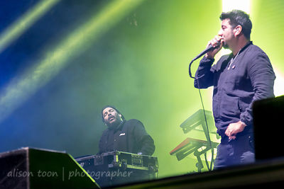Frank Delgado, keyboards, and Chino Moreno, vocals, Deftones