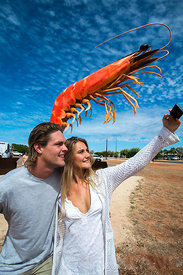 THE BIG PRAWN EXMOUTH WESTERN AUSTRALIA