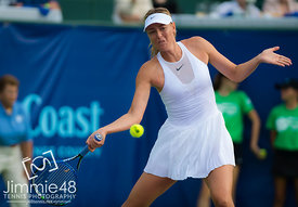 Maria Sharapova Playing World Team Tennis, Newport Beach, USA - 24 Jul 2017