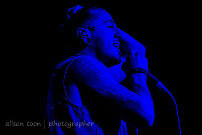 David Escamilla, vocals, Crown The Empire, Sacramento