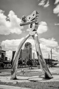 The Traveling Man in Deep Ellum #2