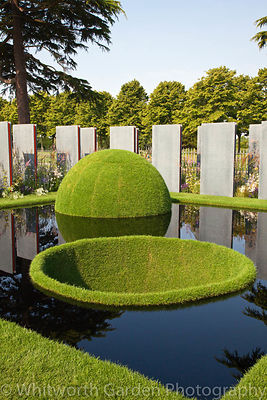 The World Vision Garden designed by Flemons Warland Design at the RHS Hampton Court Flower Show 2011. © Rob Whitworth