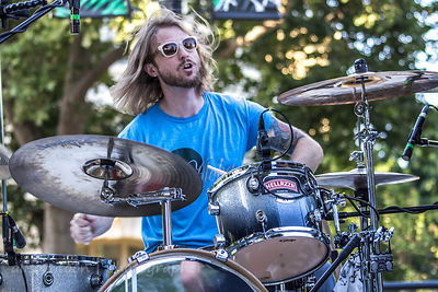 Jesse Sherwood, drums, Humble Wolf