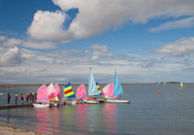 Sailing boats, West Kirby