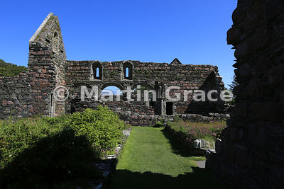 The Augustinian Nunnery of St Mary the Virgin (c 1200), Isle of Iona, Inner Hebrides, Scotland