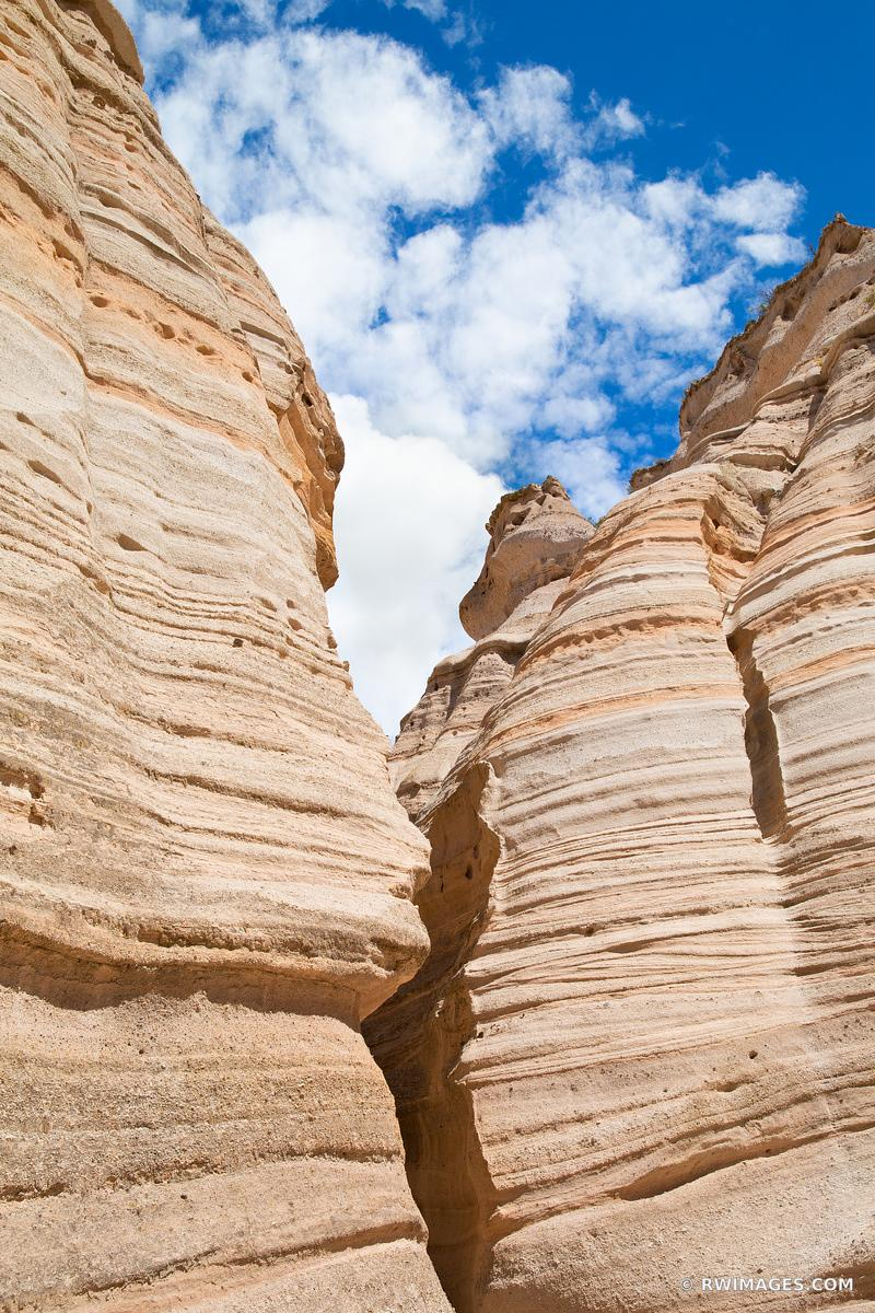 KASHA-KATUWE TENT ROCKS NATIONAL MONUMENT NEW MEXICO COLOR VERTICAL