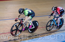 Junior Women Sprint 1-2 Final. Canadian Track Championships (U17/Junior/Para), April 1, 2017